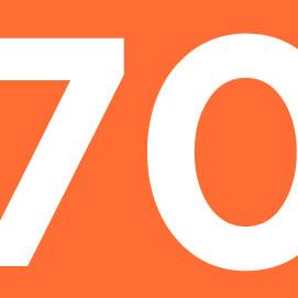 70% клиентов работают с нами более 3 лет на постоянной основе.