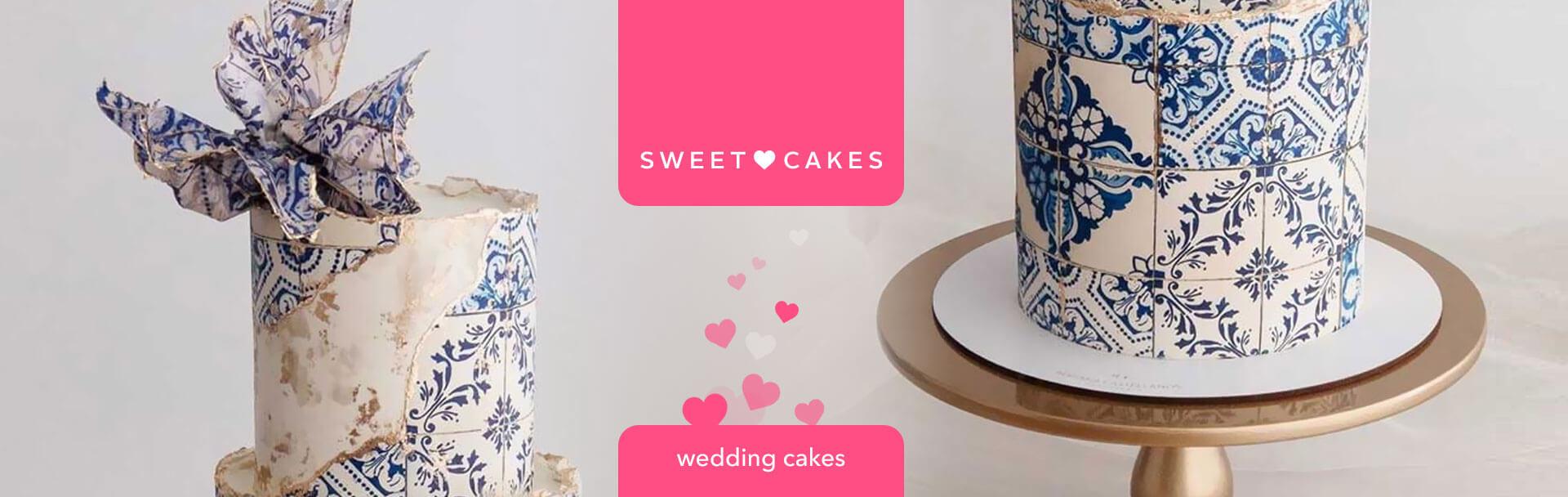 """Лендинг для кондитерской мастерской """"SweetCakes"""""""