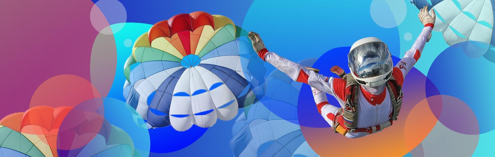 Сайт для парашютного клуба «Южное небо»